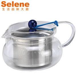義大利【SELENE】玻璃泡茶壺 TS-420 (420ml)