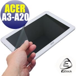 【EZstick】ACER Iconia Tab 10 A3-A20 FHD 專用 靜電式平板LCD液晶螢幕貼 (可選鏡面防汙及高清霧面)