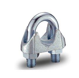 【KLC五金商城】台灣製造 1/ 2 英吋 鍍鋅 鋼索夾 鋼索固定夾