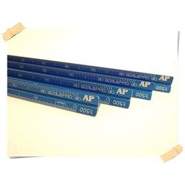 同央美術網購 AP 細軸鋁製  黑色 比例尺 雷射雕刻   刻度保證不抹滅
