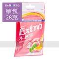 【Extra】益齒達蜜桃薄荷口香糖28g/包,全素,請勿吞食