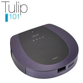 福利品【EMEME】掃地機器人吸塵器 Tulip101(紫) 《加贈一年份耗材》