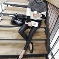 韓國妹【ess0179】韓國空運SSUNNY正品進口. 韓國製黑色刷毛緊身內搭褲. 預購