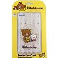 Rilakkuma 拉拉熊/ 懶懶熊 HTC Desire 820 /  D820u 彩繪透明保護軟套-花草優雅熊