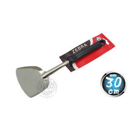 《3557》ZEBRA斑馬牌電木柄不鏽鋼煎匙104S-30cm 304不銹鋼斑馬炒菜鍋鍋鏟 平底鍋鐵鏟