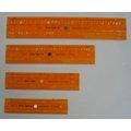 德國 標準牌 英/數描字規 #2612/04 斜字體 4片組