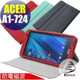 【EZstick】ACER Iconia Talk S A1-724 平板專用皮套(筆記本款式)(加碼送平板機身貼)