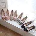 韓國妹【emb0579】韓國空運MONOBARBIE進口. 韓國製必買超好穿魚口鞋. 4色225-250預購