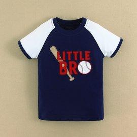 【媽咪 & baby】 夏 mom and bab棒球短袖上衣/ T恤-藍色款(12m.18m.24m.3T- 6T)