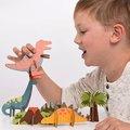 美國Petit Collage - 立體組裝拼圖 - 恐龍世界