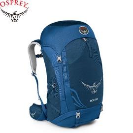 【OSPREY 美國 ACE 50L 登山包 藍 青少年款】青少年/ 登山包/ 登山/ 健行/ 自助旅行/ 雙肩背包/ ACE50