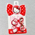 Hello Kitty 髮束髮圈 心形 日本製 正版商品