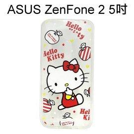 Hello Kitty 透明軟殼 [紅] ASUS ZenFone 2 ZE500CL Z00D (5吋)【三麗鷗正版授權】