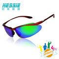 偏光眼鏡(競速紅)贈眼鏡盒 抗UV紫外線 自行車 慢跑 登山 專業運動太陽眼鏡 【Nessie尼斯眼鏡】