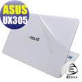 【Ezstick】ASUS UX305 白色機款 系列專用 二代透氣機身保護貼(含上蓋、鍵盤週圍、底部)DIY 包膜