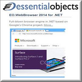 Essential Objects - EO.WebBrowser for .NET Single Developer License 商業單機下載版