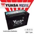 『加倍伏Voltplus』 YUASA 台灣湯淺〈95D31L 完全免加水〉UCSON (柴油)、SANTA FE (柴油) 電瓶適用 - 機車電池電瓶