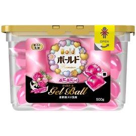 日本寶僑 P&G Bold 洗衣膠球盒裝 500g /  20個入 ( 新鮮花香 )