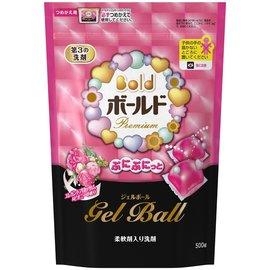 日本寶僑P&G Bold 洗衣膠球補充包 500g /  20個入 ( 新鮮花香 )