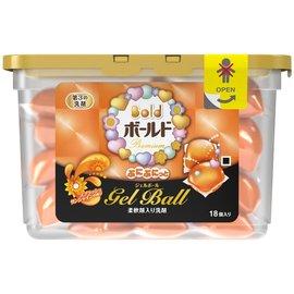 日本寶僑 P&G Bold 洗衣膠球盒裝 437g /  18個入 ( 陽光橘香 )