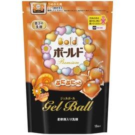 日本寶僑 P&G Bold 洗衣膠球補充包 437g /  18個入 ( 陽光橘香 )