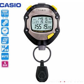 【CASIO】賽跑 溜冰 游泳 運動用防潑水專業計時碼錶 型號:HS-70TW【神梭鐘錶】