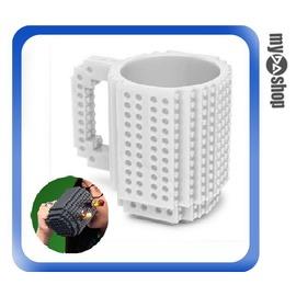 《DA量販店》LEGO 樂高 積木 杯子 馬克杯 咖啡杯 白色 350ml V50-129