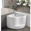 【衛浴先生】BATHTUB WORLD 日式座 H-068 壓克力扇形泡湯浴缸990*990*690mm