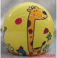 《福利社》華泰 KK 857 K-857C-04 P714 (黃) 大象 長頸鹿 鱷魚 兒童專用 中童 輕量 附抗UV安全鏡片 半罩式 四分之三 安全帽
