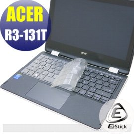 【Ezstick】ACER Aspire R3-131 T 系列 專利透氣奈米銀抗菌TPU鍵盤保護膜