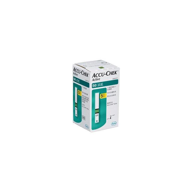 【益康便利GO】Accu-Chek羅氏 活力血糖機專用 血糖試紙