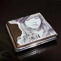 彩印個性煙盒-客製化彩印菸盒【時尚皮紋黑】