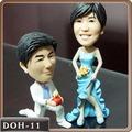 婚禮公仔-鑽戒求婚公仔娃娃【15公分】固定版