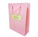 娃娃屋樂園~粉色西式提袋-大 10個350元/婚禮小物/聖誕節禮物/送禮包裝/禮品袋