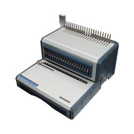 銀星 D~160 21孔 活頁膠圈機 裝訂機  電動   台