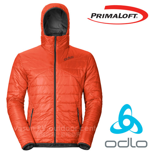 瑞士 ODLO 男款 長效保暖防風外套