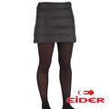 【法國Eider】女 戶外羽毛裙 深沉黑 EIV3206