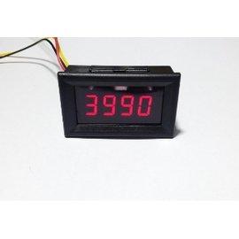 高 低壓警示 轉速表 轉速錶 含外殼 機車 汽車 LED高亮度數字 0.36 轉速 電壓可