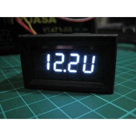 低壓警示 轉速表 轉速錶 含外殼 機車 汽車 高亮度LED 轉速 電壓表 二合一 2合1儀