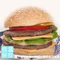 熟厚牛肉堡(10片/包)【優統憶家香】