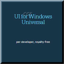 Telerik UI for Windows Universal Professional  Developer License with Subscription and Priority Support 商業...