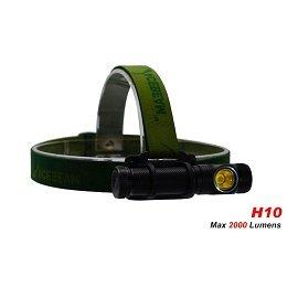 【電筒王 江子翠捷運3號出口】Acebeam H10 MT-G2 最高2000流明 頭燈 手電筒 18650 黑色