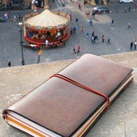 小品雅集  MIDORI TRAVELER S notebook 真皮兩色 旅人筆記本(大)