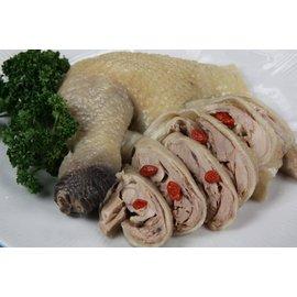 【晚餐系列】醉雞腿 /淨重約425g~超大去骨~口感滑嫩略帶酒味~皮Q肉質飽滿~