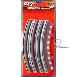 【鐵雄】SCX 1:32電刷車配件B10100X200-Standard Curve Border with Barrier Slot Car Track