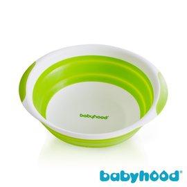 ★ 衛立兒生活館★ Babyhood 世紀寶貝 折疊小臉盆-(綠色/ 桃紅色/ 藍色)