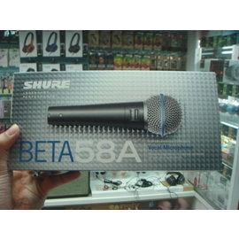 禾豐音響 公司貨保1年 Shure BETA 58A BETA58A 麥克風 另e945 akg d7s sm58