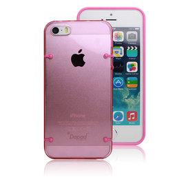 【CK 3C】全館免運 Dapad Apple iPhone 5/ 5S 雙料背蓋 內附保護貼