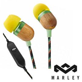 【新品出清五折UP】Marley Smile Jamaica 入耳式耳機麥 黃