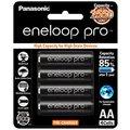 【電子超商】★贈電池盒 黑鑽款 Panasonic eneloop PRO 2550mAh 低自放3號充電電池 BK-3HCCE